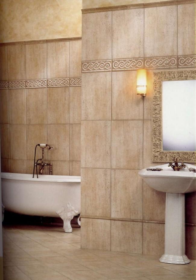 Cenefas ba os 3 cerimas for Revestimiento para azulejos de bano