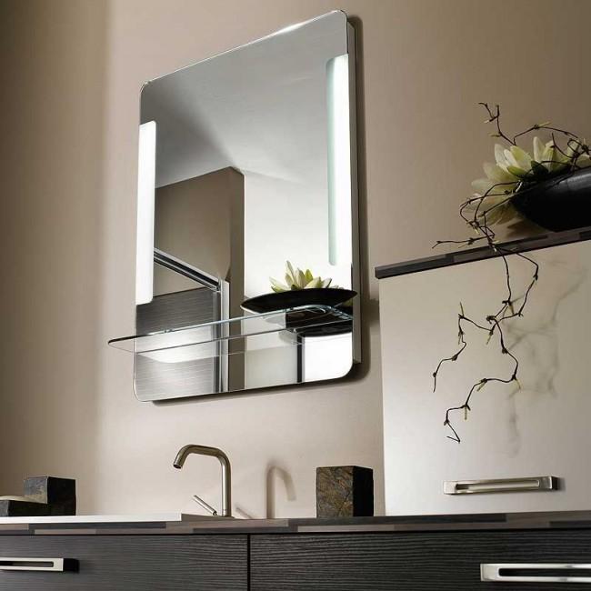 espejo luz bao
