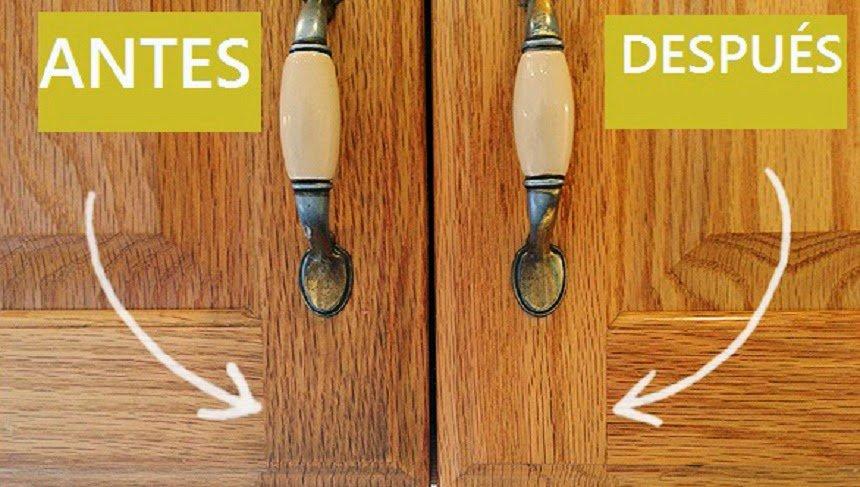Quitar la grasa de los gabinetes de la cocina - Cerimas